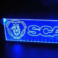 Светящаяся табличка Scania 2D