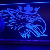 Светящаяся табличка Scania 3D