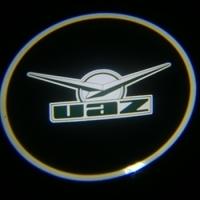 Подсветка дверей с логотипом UAZ 5W mini