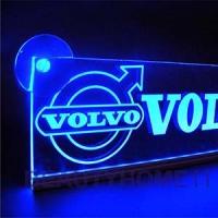Светящаяся табличка Volvo 3D